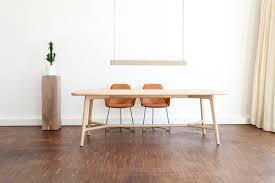 Wohnzimmer Nordischer Stil Modern Skandinavischer Esstisch Utelja In Weiß Kiefer Wohnen De