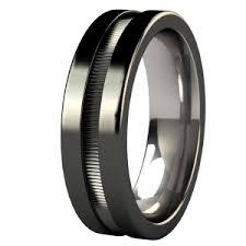 black wedding bands for men men wedding rings black titanium is the trend for men