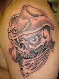 wicked skull and snake tattoo design photos pictures and