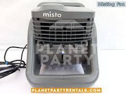 party rentals san fernando valley mister misting fans