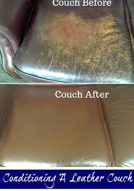 How To Fix A Tear In A Leather Sofa Conditioning A Genuine Leather Couch Using A Common Household Item