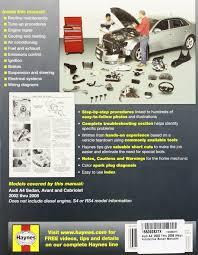 audi a4 automotive repair manual 02 08 haynes automotive repair