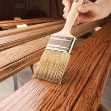 painting stained wood trim how to prepare wood trim for a smooth wood paint job family handyman
