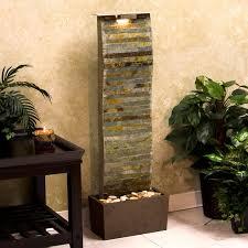 kenroy curvature indoor outdoor floor water fountain hayneedle