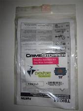 crimestopper tbkia1 transponder bypass kit for hyundai kia