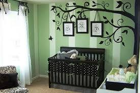 Brown Tree Wall Decal Nursery Baby Nursery Decor Brown Baby Nursery Tree Wall Decals Black