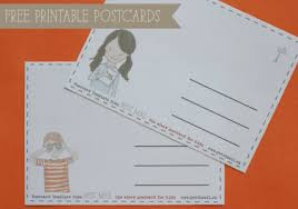 printable postcard template for students 20 free printable postcard templates xdesigns