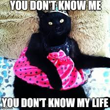 You Don T Know Me Meme - you don t know me imgflip