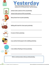 get into grammar past tense worksheet education com