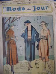 Deco Design Magazine 1920s Art Deco Sewing Pattern Magazine