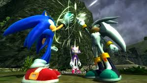 silver the hedgehog sonic news network fandom powered wikia silver helping sonic get back time with chaos control
