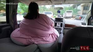 600 lb dottie pizza addiction left 45 stone woman with hips too wide to fit