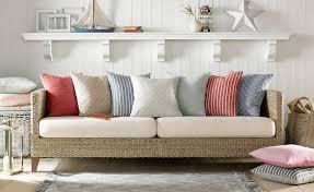 canapé jonc de mer rideaux style bord de mer nos astuces pour choisir