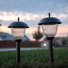 solar garden lights the solar lights usage to reduce the