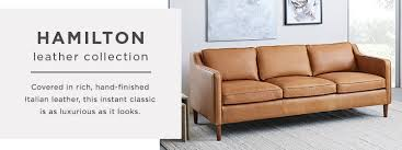 Leather Sofa Store Hamilton Leather Collection West Elm