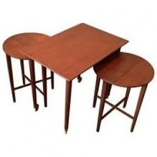 teak folding tables hollywood thing