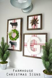 christmas signs craftaholics anonymous diy farmhouse christmas signs