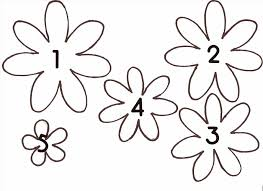 with free templates diy paper flower templates giant spring