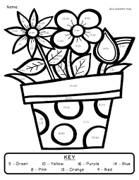 free printable spring coloring pages for adults color kids to