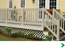 exterior railings u0026 gates at menards