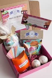 cupcake gift baskets what s up cupcake gift package flaxie packs