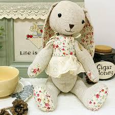 rabbit material rabbit doll dolls plush doll handmade fabric rabbit bugs