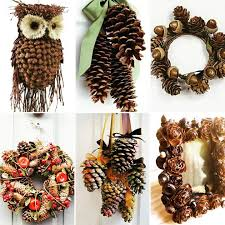 pine cone decoration ideas 50 interesting and out of the box diy pinecones craft ideas for