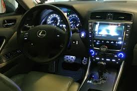 lexus is 250 custom black ny led push start button blue white custom clublexus lexus