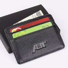 audi purse abt audi slim wallet genuine cow leather purse mini credit