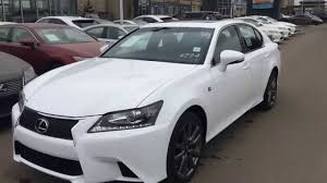 lexus sports car gs 2014 lexus gs 350 awd ultra white on red f sport package