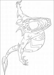 free printable picture ben 10 ultimate alien coloring pages