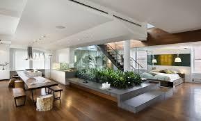 brown wood end table minimalist interior design round brown