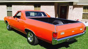 el camino orange 1971 chevrolet el camino t30 1 houston 2016