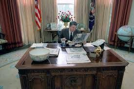 reagan oval office presidents of the united states what s the story behind the desk of