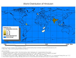 Hinduism Map The Geography Of Hinduism