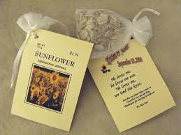 sunflower seed wedding favors flower packets for wedding favors inspirational a few my favorite