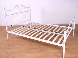 gfw sparkle 3ft single white metal bed frame by gfw