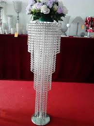 Tall Wedding Vases For Sale Tall Acrylic Flower Stands Centerpiece Hanging In Wedding Table