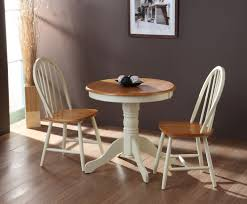 kitchen ancient small round kitchen table sets 2 chair wooden