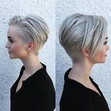 asymmetric fine hair bob hairstyle over 40 for round face for 2015 40 chic short haircuts popular short hairstyles for 2018
