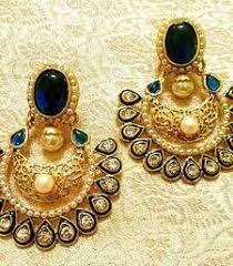 danglers earings buy high quality meenakari chaand bali danglers drop online