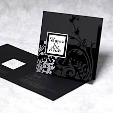 black wedding invitations black wedding invitations the wedding specialiststhe wedding