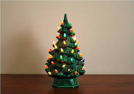 porcelain christmas tree with lights ceramic christmas trees happy holidays