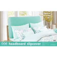 headboard slipcover green cotton paper wood