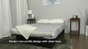zipcode design armani upholstered platform bed u0026 reviews wayfair