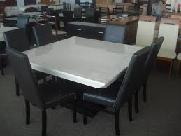 White Marble Dining Tables Dining Table Square Marble Dining Table Pythonet Home Furniture