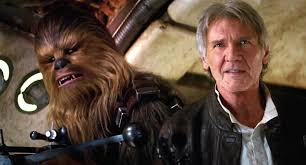 spirit halloween chewbacca film review star wars the force awakens nerdy rotten scoundrel