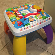 fisher price around the town learning table best fisher price around the town learning table for sale in deland