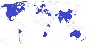 countries visited map countries visited on top gear x post r mapporn topgear