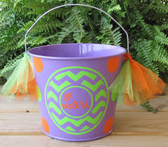 personalized halloween buckets dear doodlez designs